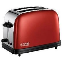 Russell Hobbs 18951 Colours Flame Red & Stn Steel 2 Slice Toaster