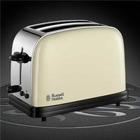 Russell Hobbs 18953 Colours Cream & Stainless Stl 2 Slice Toaster