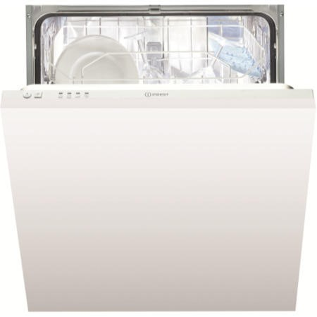Indesit DIF04B1 Ecotime 13 Place Fully Integrated Dishwasher - White