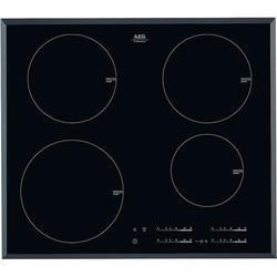 GRADE A1 - AEG 60cm Touch Control Induction Hob - Black With Bevelled Edges