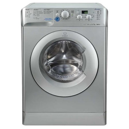 Indesit XWD71452S Innex Silver 7kg 1400rpm Freestanding Washing Machine