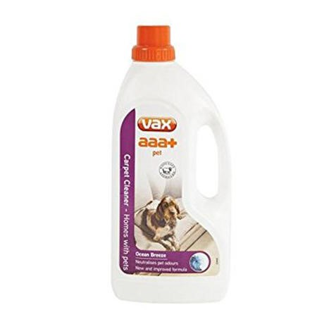 Vax 1913270200 AAA-Plus Carpet Cleaner For Homes With Pets 1.5L