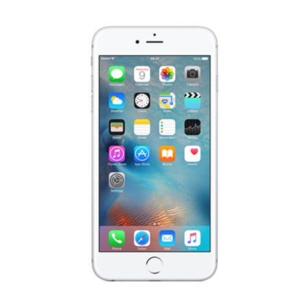 "Apple iPhone 6s Plus Silver 128GB 5.5"" 4G Unlocked & SIM Free"