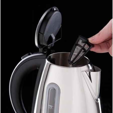 Russell Hobbs 19390 Orleans Polished Stainless Steel 1.7lt Kettle