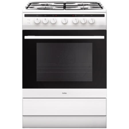Amica 608GG5MsW 608GG5MsW 608GG5MsW 60cm Single Cavity Gas Cooker - White