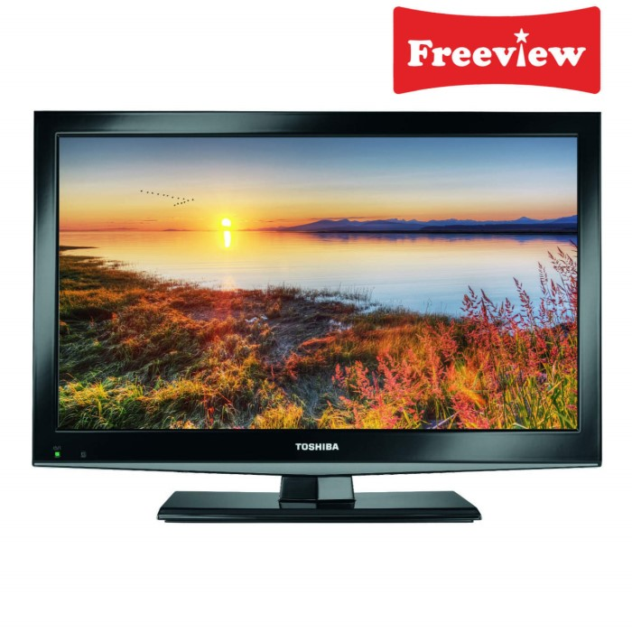Toshiba 19dl502b 19 Inch Freeview Led Tv With Built In Dvd Player