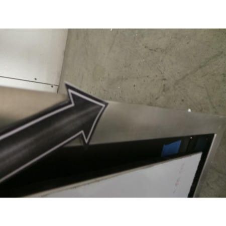 GRADE A2 - Best HOOD-BE-CE-11-SS Cirrus Ceiling Cooker Hood Stainless Steel Remote Motor Version