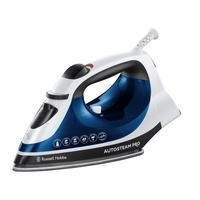 Russell Hobbs 20270 Mm 2400w Ceramic Soleplare Blue Auto Steam Iron