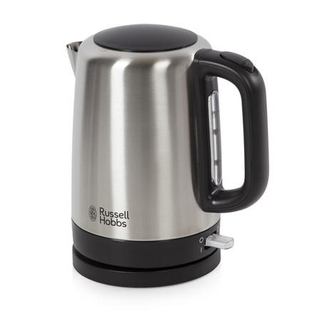 Russell Hobbs 20610 1.7lt Canterbury Brushd Closed Handle Kettle