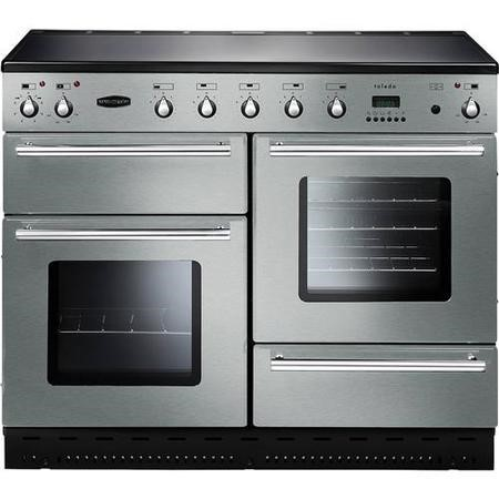 Rangemaster Display 110cm wide Toledo Electric Range Cooker with Ceramic Hob