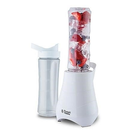 Russell Hobbs 21350 Mar14 Mix And Go 300w White Includes Drink Bottles