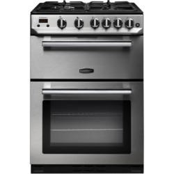 Rangemaster 10728 Professional+ 60cm Gas Cooker Stainless Steel And Chrome