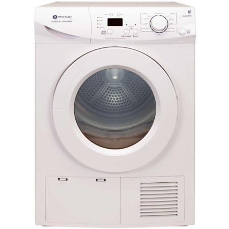 White Knight A+96M7W 7kg Condenser Tumble Dryer White