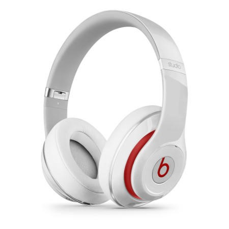 Beats Studio Wired Over-Ear Headphones - White