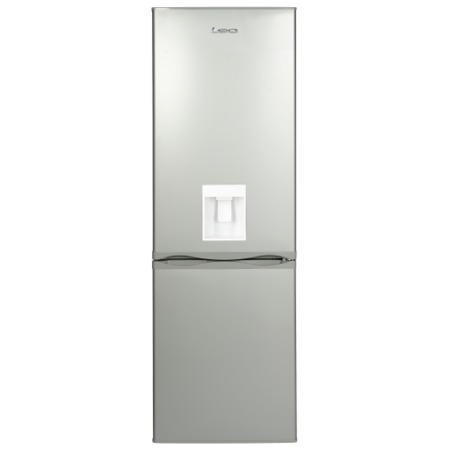 GRADE A2  - LEC 444443511 TF60185WTD 60cm Wide Frost Free Fridge Freezer With Water Dispenser Silver