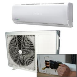 18000 BTU Hitachi Powered  Quick Connector Wall Mounted Inverter Air Conditioner with 4 metres pipe kit 5 years warranty