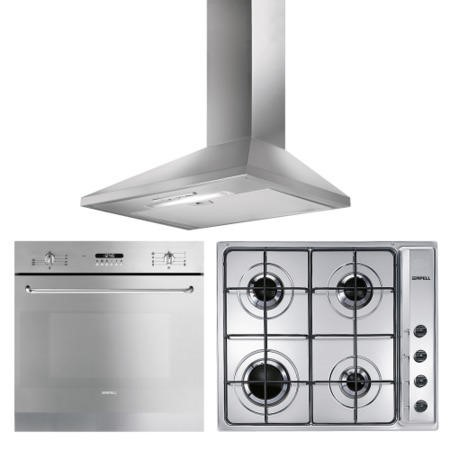 Apell By Smeg Multifunction Oven Gas Hob And Chimney Hood