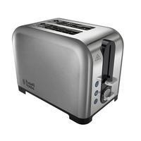 Russell Hobbs 22390 2 Slice Polished & Brushed Stainless Steel Toaster