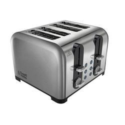 Russell Hobbs 22400 4 Slice Brushed & Polished Stainless Steel Toaster