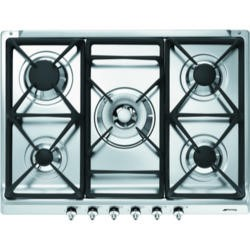 GRADE A3  - Smeg SE70SGH-5 Classic 70cm Gas Hob with Cast Iron Pan Stands