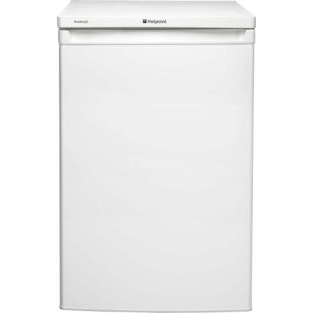 GRADE A3 - Heavy cosmetic damage - Hotpoint RLAAV22P1 55cm Freestanding Under Counter Fridge White