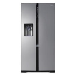 GRADE A3 - Heavy cosmetic damage - Panasonic NR-B53V2-XB Frost Free American Fridge Freezer With Vitamin Safe And FreshZone - Stainless