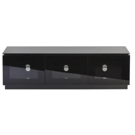 MMT Diamond D1500/3 Black TV Cabinet - Up to 65 Inch