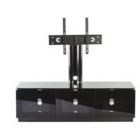 MMT Diamond D1500/3 Black TV Cabinet with Cantiliever - Up to 65 Inch