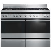 Fisher & Paykel OR120DDWGX2 89429 Double Oven 120cm Dual Fuel Range Cooker Brushed Stainless Steel
