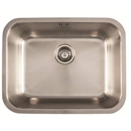 1810 Sink Company EU/55/U/MS/037 ETROUNO 550U  1.0 Bowl Undermount Stainless Steel Sink