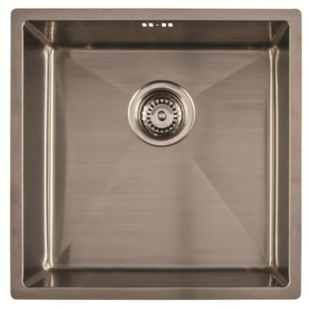 1810 Sink Company ZU/40/U15/S/080 ZENUNO15 400U 1.0 Bowl Undermount Stainless Steel Sink