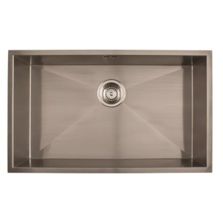 1810 Sink Company ZU/70/U/S/023 ZENUNO 700U  1.0 Bowl Undermount Stainless Steel Sink