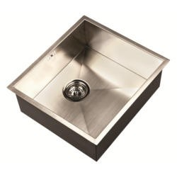 1810 Sink Company ZU/45/U/S/020 ZENUNO 450U  1.0 Bowl Undermount Stainless Steel Sink