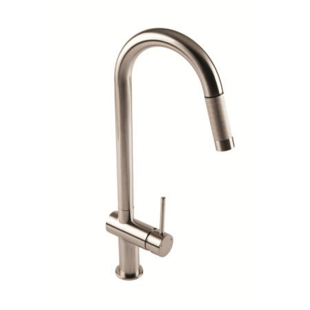 1810 Sink Company GRA/01/CH Grande Single Lever Pull Out Aerated Mixer Tap Chrome