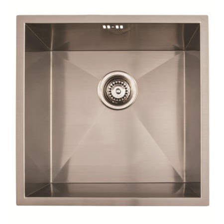 1810 Sink Company ZU/40/U/D/S/71 ZENUNO 400U Deep 1.0 Bowl Undermount Stainless Steel Sink