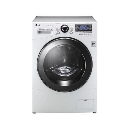 LG F1695RDH 6Motion 12kg Wash 8kg Dry Freestanding Washer Dryer With Steam - White