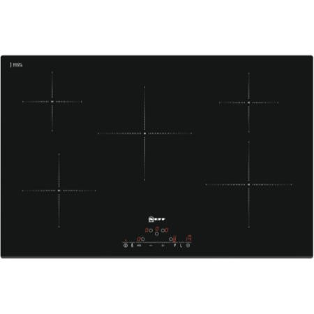 Neff T41D82X2 80cm Wide Touch Control Five Zone Induction Hob - Black
