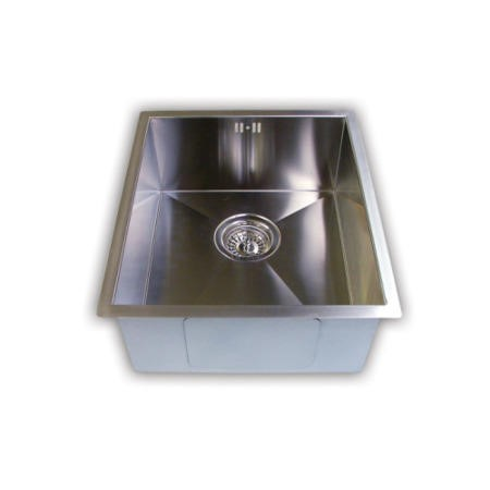 1810 Sink Company ZU/34/U/S/018 ZENUNO 340U 1.0 Bowl Undermount Stainless Steel Sink