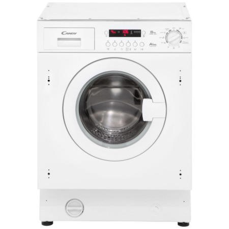GRADE A3 - Heavy cosmetic damage - Candy CWB814DN1-S Fully Integrated Washing Machine 1400 rpm 8kg A+AA Rated