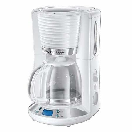 Russell Hobbs 24390 Inspire Filter Coffee Maker - White