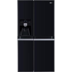 LG GSL545WBYV American Fridge Freezer With Non-plumbed Ice And Water Dispenser - Black