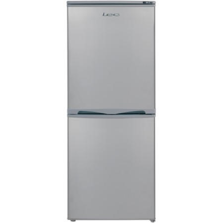 Lec T5039S 50cm Wide Silver Freestanding Fridge Freezer