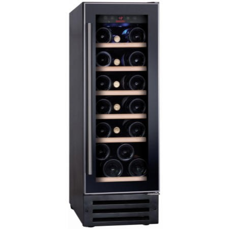 Baumatic BWC305SS 30cm 19 Bottle Electronic Wine Cooler With Built-in Possibility