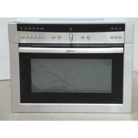 Neff Display Built-in Microwave Oven - Stainless Steel