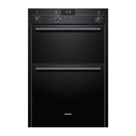 SIEMENS TA/HB13MB621B Ex-Display - As New - iQ100 Electric Built In Double Oven In Black