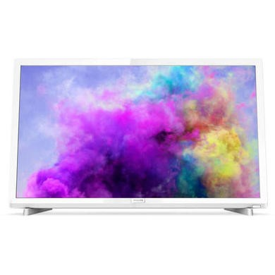 GRADE A1 - Refurbished Philips 24PFT5603 24 1080p Full HD LED TV with 1 Year Warranty - White