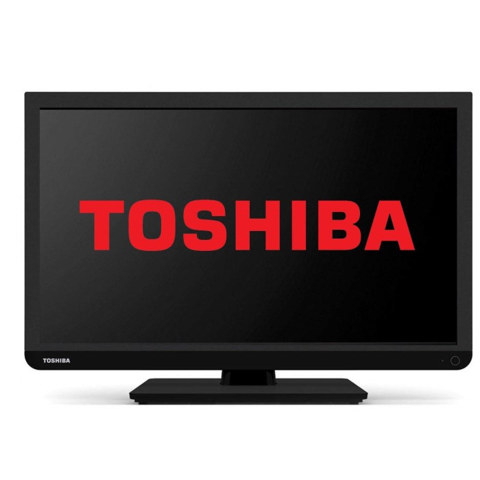 Toshiba 24W1433 24 Inch Freeview LED TV 24W1433DB ...