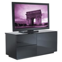 UKCF Paris Gloss Black TV Cabinet - Up to 42 Inch