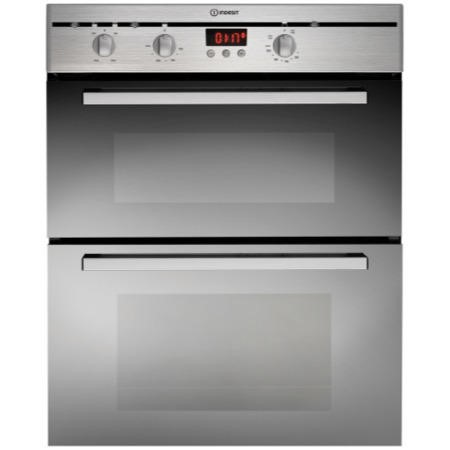 Indesit FIMU23IXS Electric Built-under Double Oven - Stainless Steel