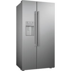 Beko ASN541S Silver American Fridge Freezer With Non-plumbed Ice And Water Dispenser